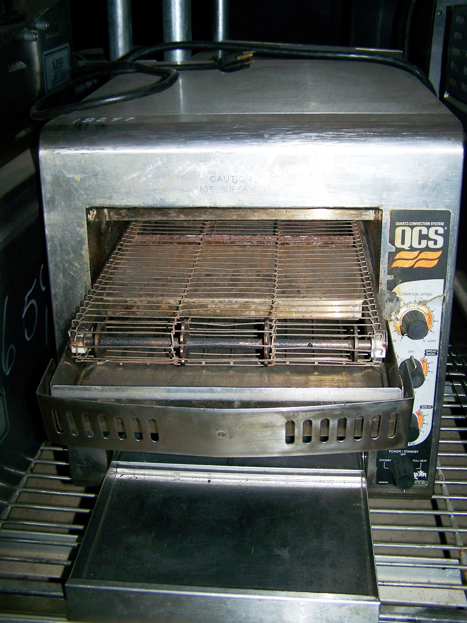 HOLMAN CONVEYOR TOASTER OVEN - 800/HR