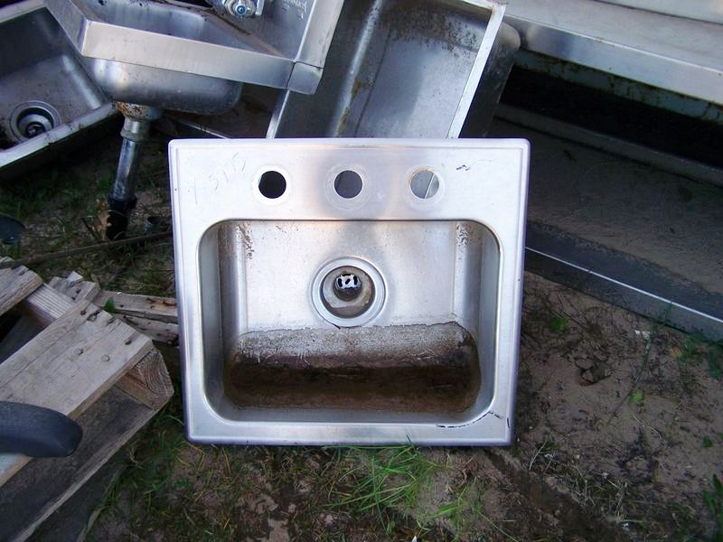 JUST STAINLESS STEEL HAND SINK 19 X 18